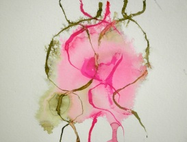 ritual work, Jenny 27.7.2016, ink on paper, 21x29,7cm