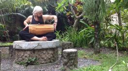 kendang, double headed drum